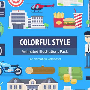 Colorful Style Pack for Animation Composer