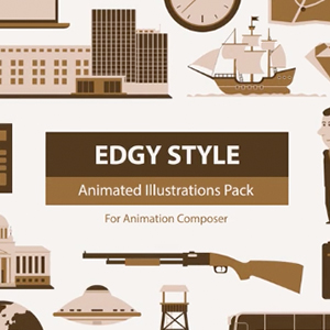 Edgy Style Pack for Animation Composer