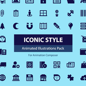 Iconic Style Pack for Animation Composer