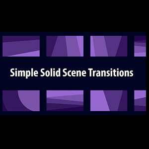 Simple Solid Scene Transitions for Animation Composer