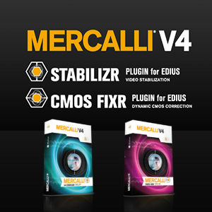 ProDAD Mercalli V4 Suite for EDIUS
